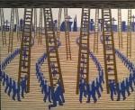 Ladders. 48 x 60 ins.