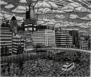 New Birth in the City, 67x 52 cm. £300 (edition of 100).