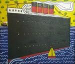 Ships at Sea, 150 x 175 cms.
