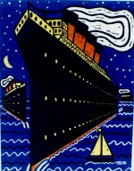 Ship in the Night. 39 x 29 cms. £240 (Edition of 25).