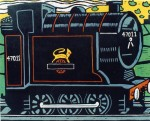 Tank Engine. 32 x 26 cms £120 (Edition of 20).