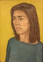 Portrait of Elizabeth Peers, 61 x 43 cms.