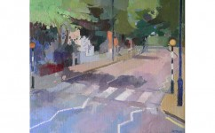 Abbey Road. Oil on canvas: 14ins x 16ins 2007 (sold).