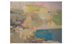 Lulworth Cove. Oil on canvas: 20ins x 16ins 2010 (sold).