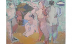 Directions to Kenwood. Oil on board: 12ins x 16ins 2007 (£1,050).