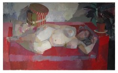 Kimberley Robinson Soprano 2007. Oil on canvas, 60ins x 36ins 2007 (sold)